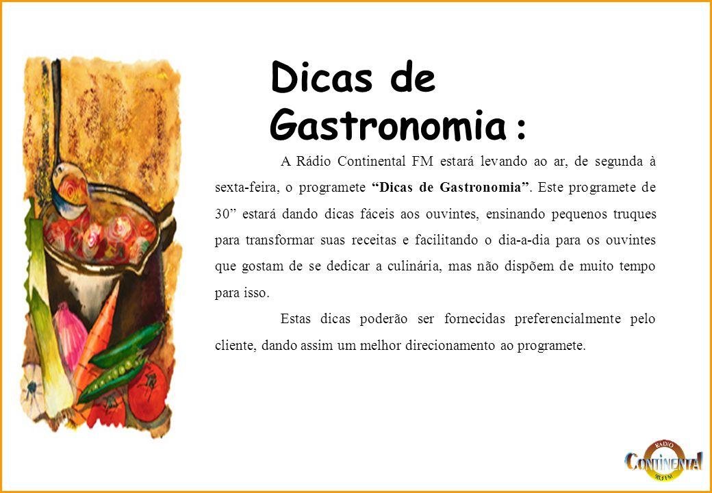 Dicas de Gastronomia :