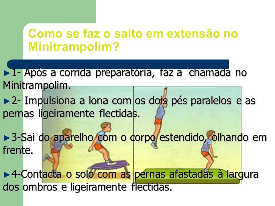 Como se faz o salto em extensão no Minitrampolim