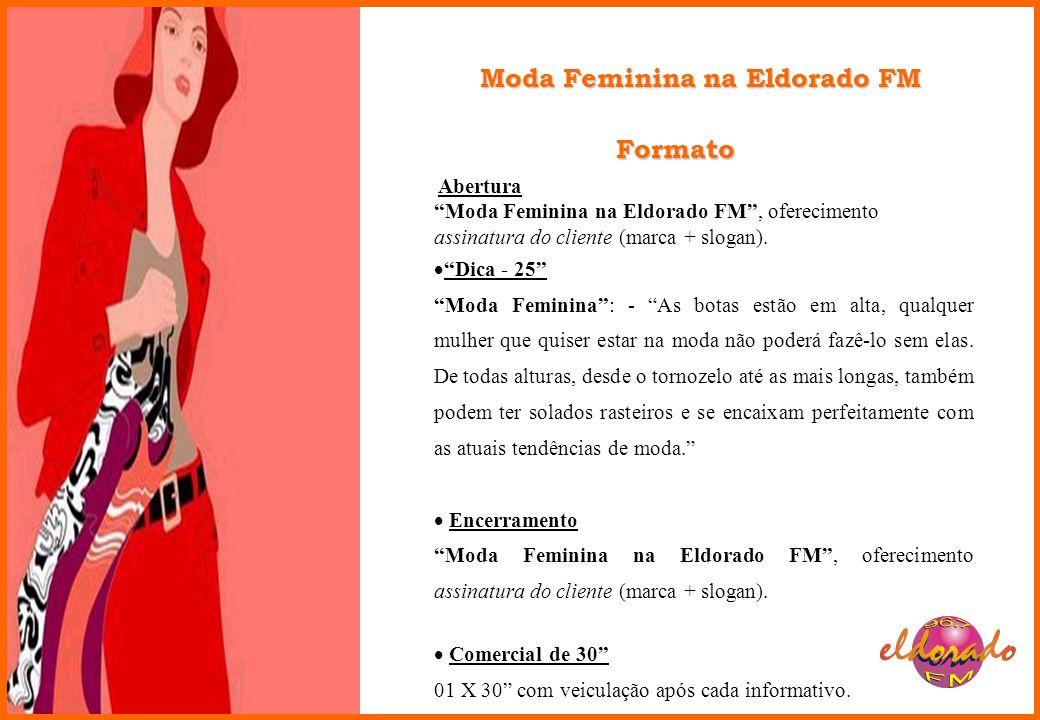 Moda Feminina na Eldorado FM
