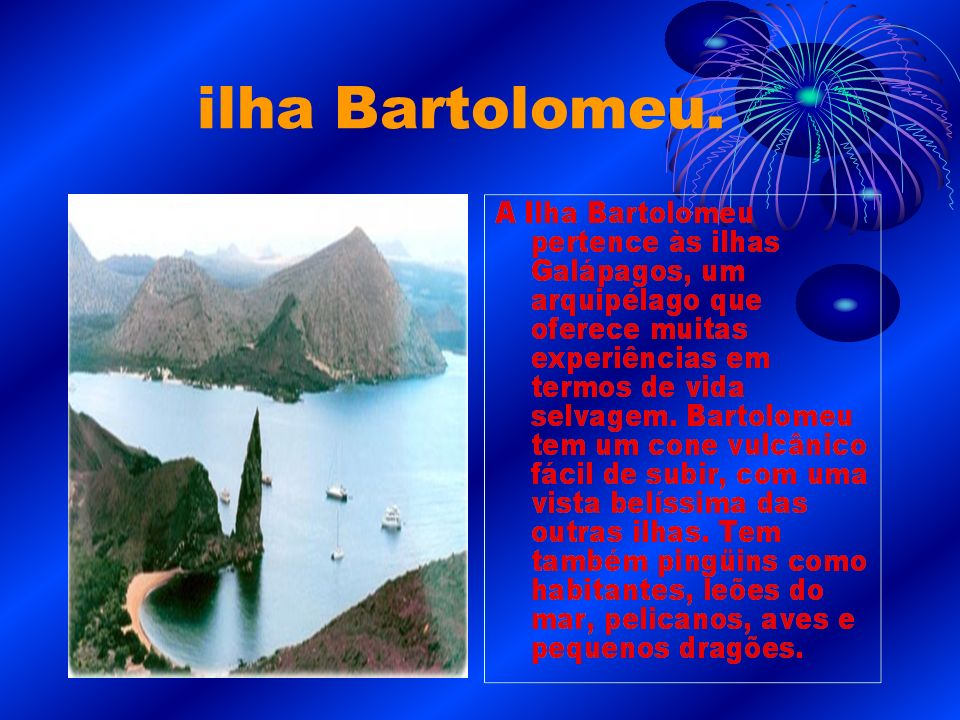 ilha Bartolomeu.
