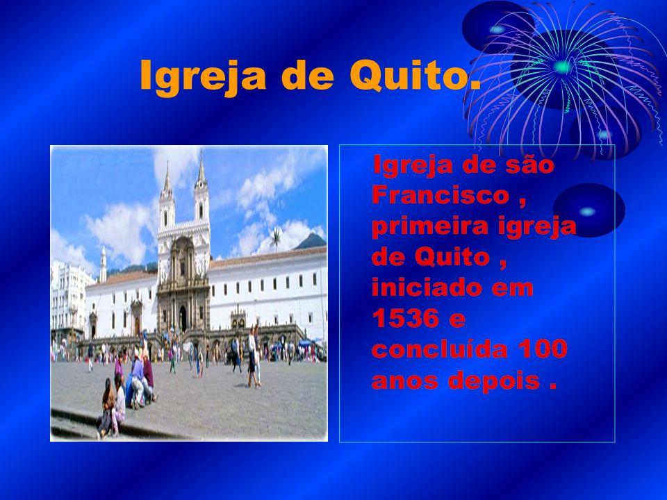 Igreja de Quito.
