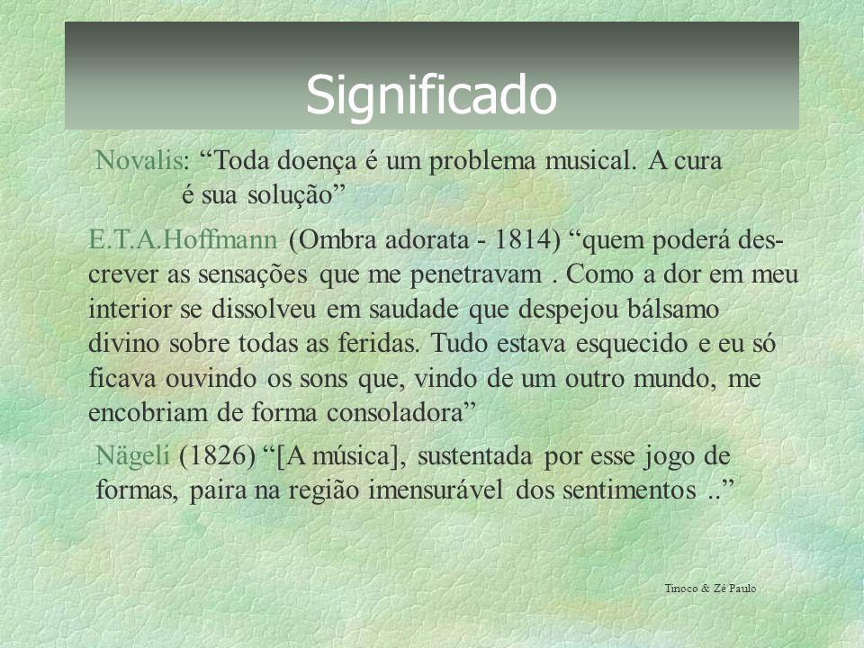 Significado Novalis: Toda doença é um problema musical. A cura