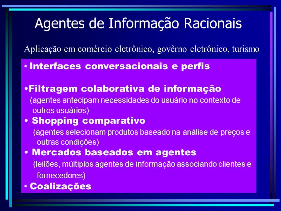 Agentes de Informação Racionais