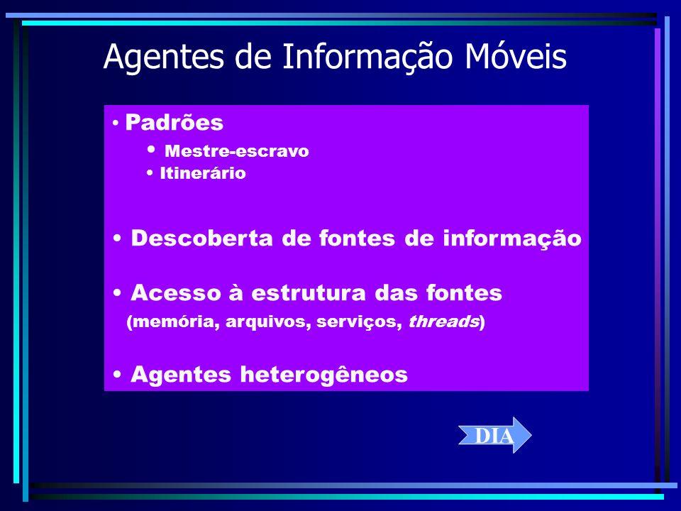 Agentes de Informação Móveis