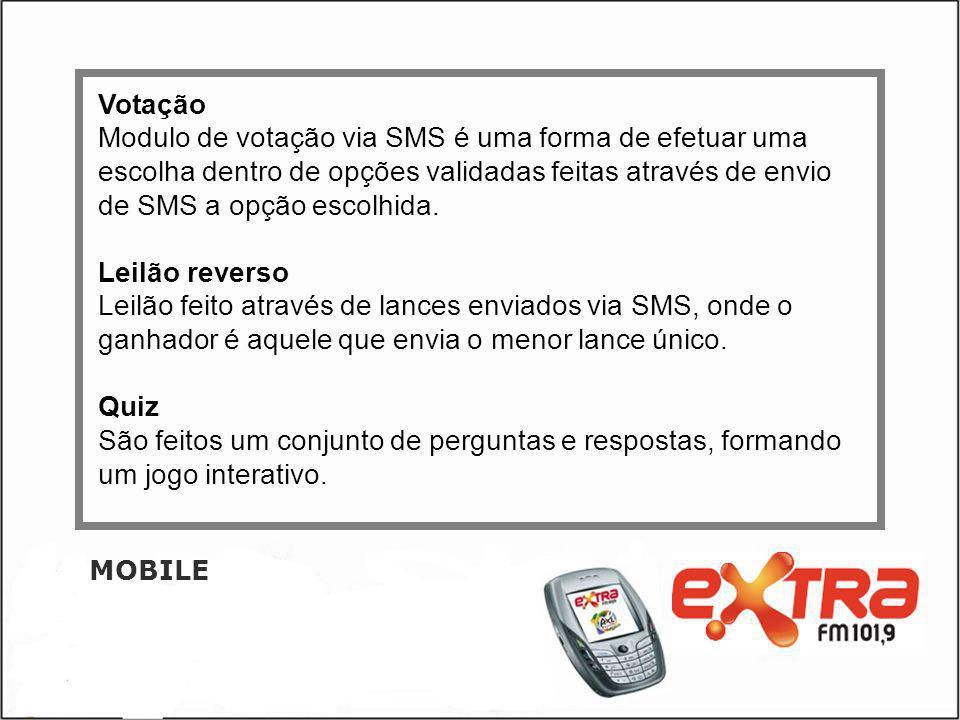 Votação Modulo de votação via SMS é uma forma de efetuar uma escolha dentro de opções validadas feitas através de envio de SMS a opção escolhida.