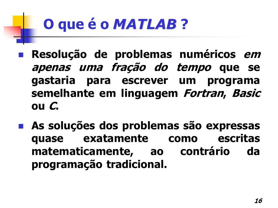 O que é o MATLAB