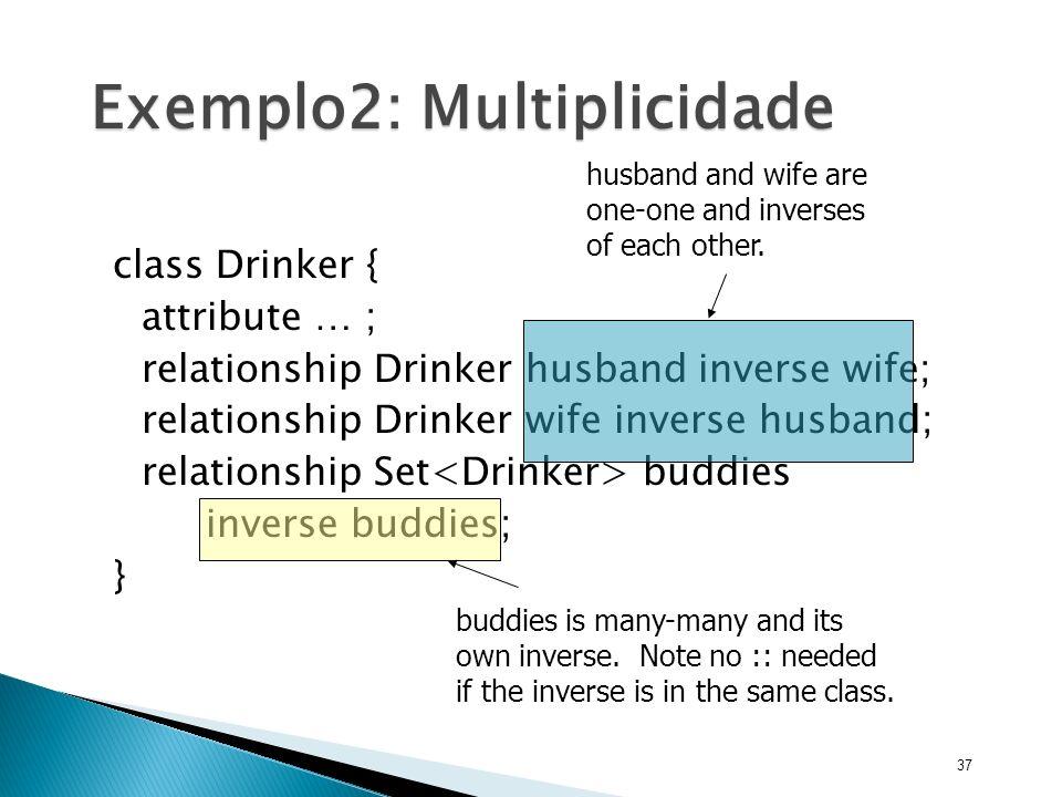 Exemplo2: Multiplicidade