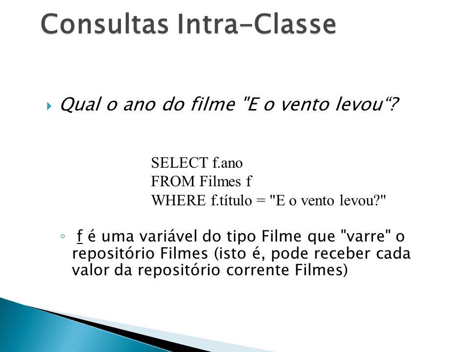 Consultas Intra-Classe