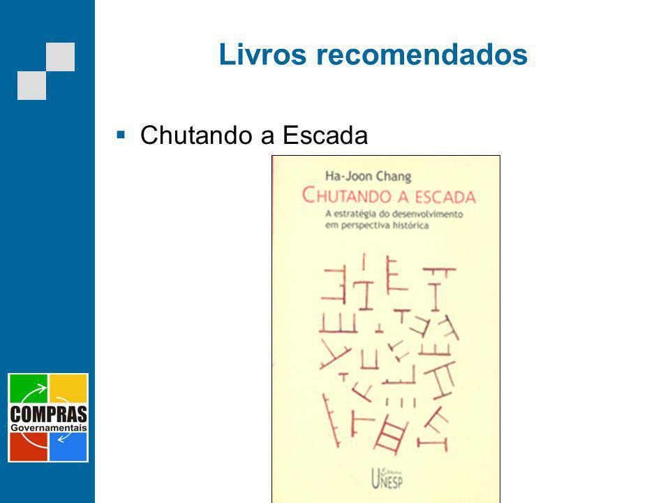 Livros recomendados Chutando a Escada