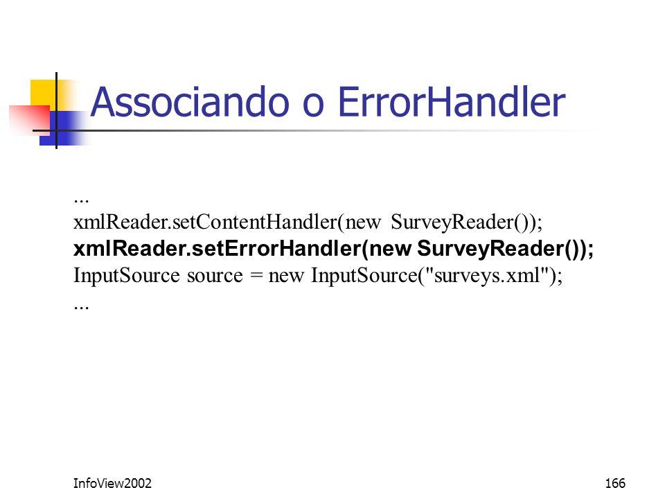Associando o ErrorHandler