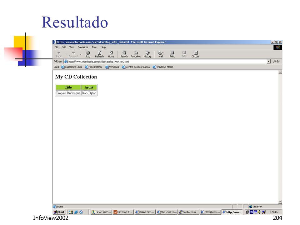 Resultado InfoView2002