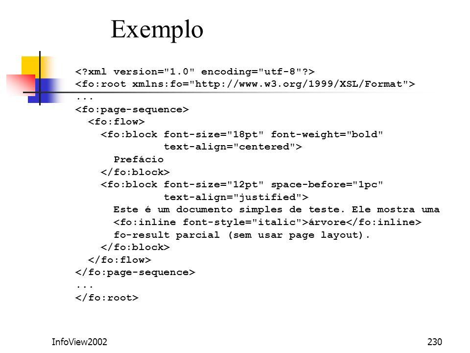 Exemplo < xml version= 1.0 encoding= utf-8 >