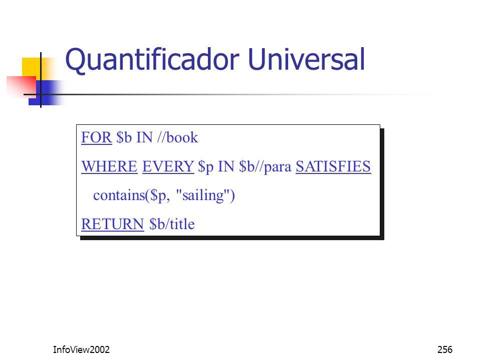 Quantificador Universal