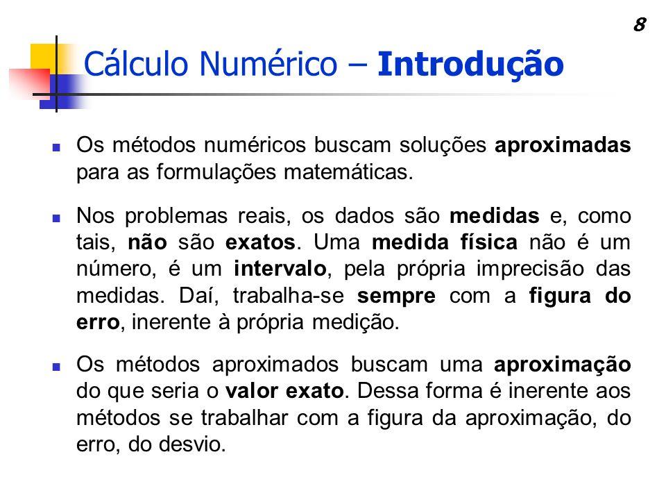 Cálculo Numérico – Introdução