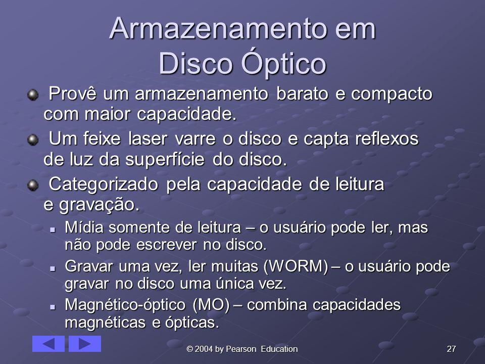 Armazenamento em Disco Óptico