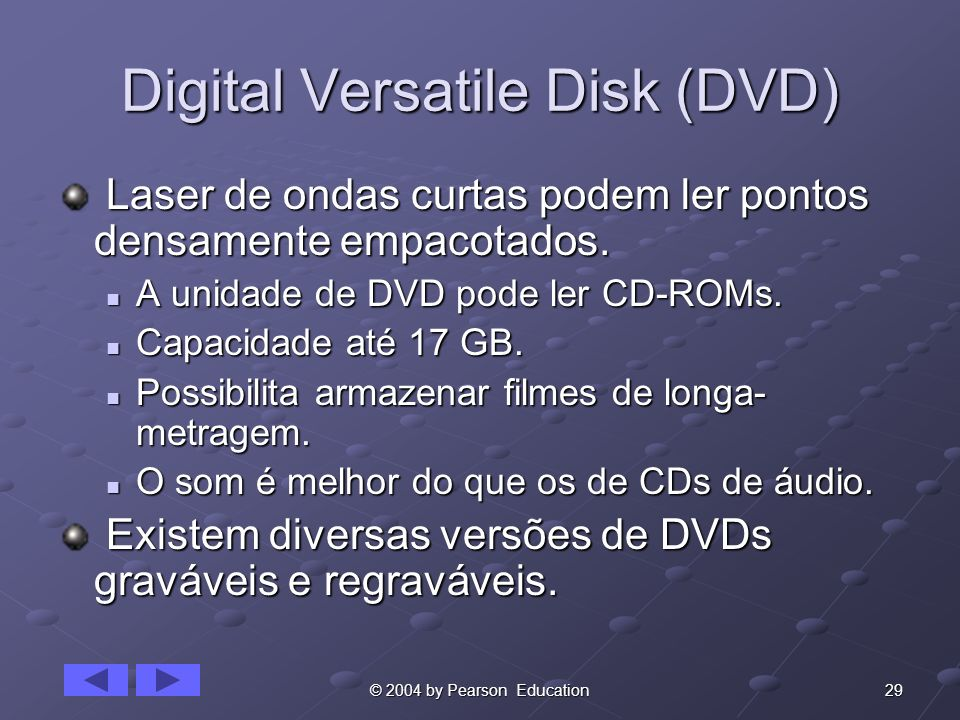 Digital Versatile Disk (DVD)