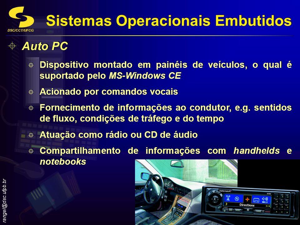 Sistemas Operacionais Embutidos