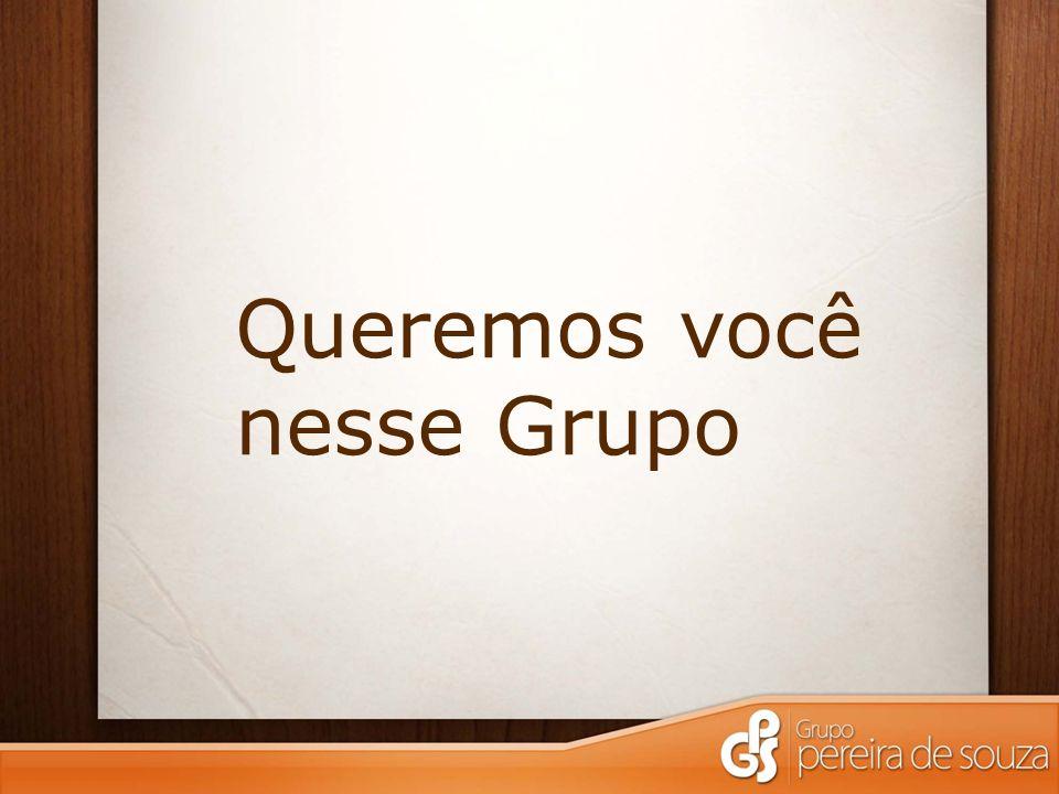 Queremos você nesse Grupo