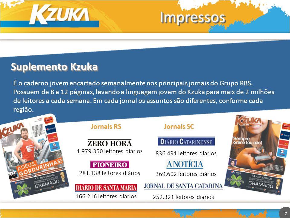 Impressos Suplemento Kzuka