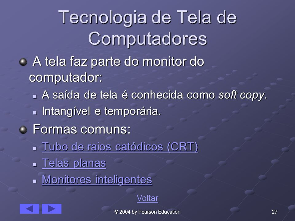 Tecnologia de Tela de Computadores