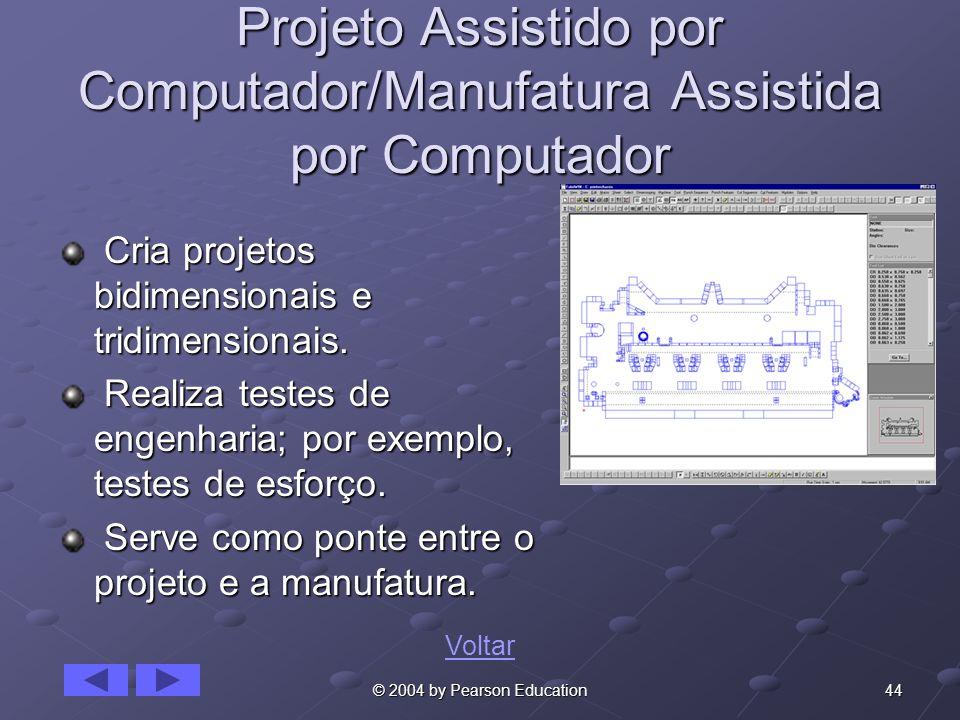 Projeto Assistido por Computador/Manufatura Assistida por Computador