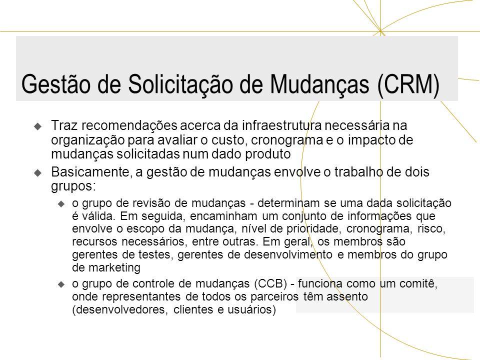 Gestão de Solicitação de Mudanças (CRM)