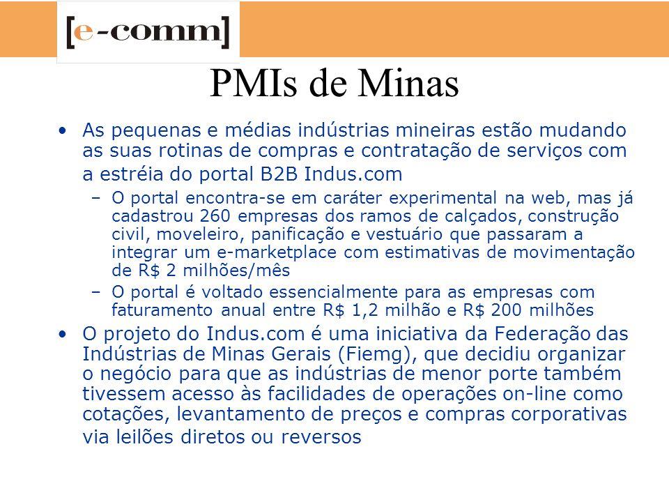 PMIs de Minas