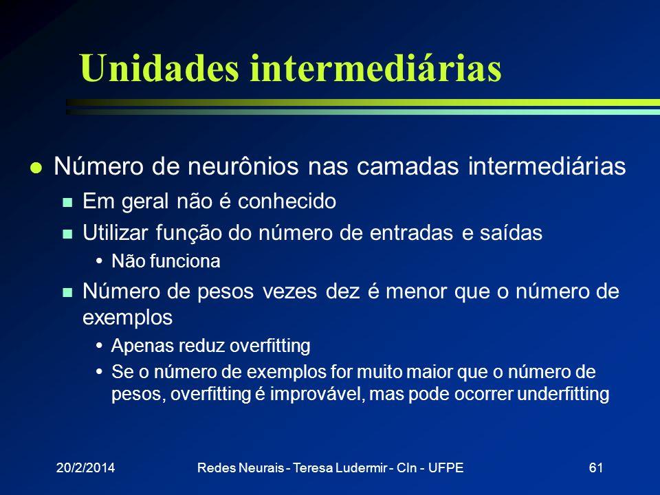 Unidades intermediárias