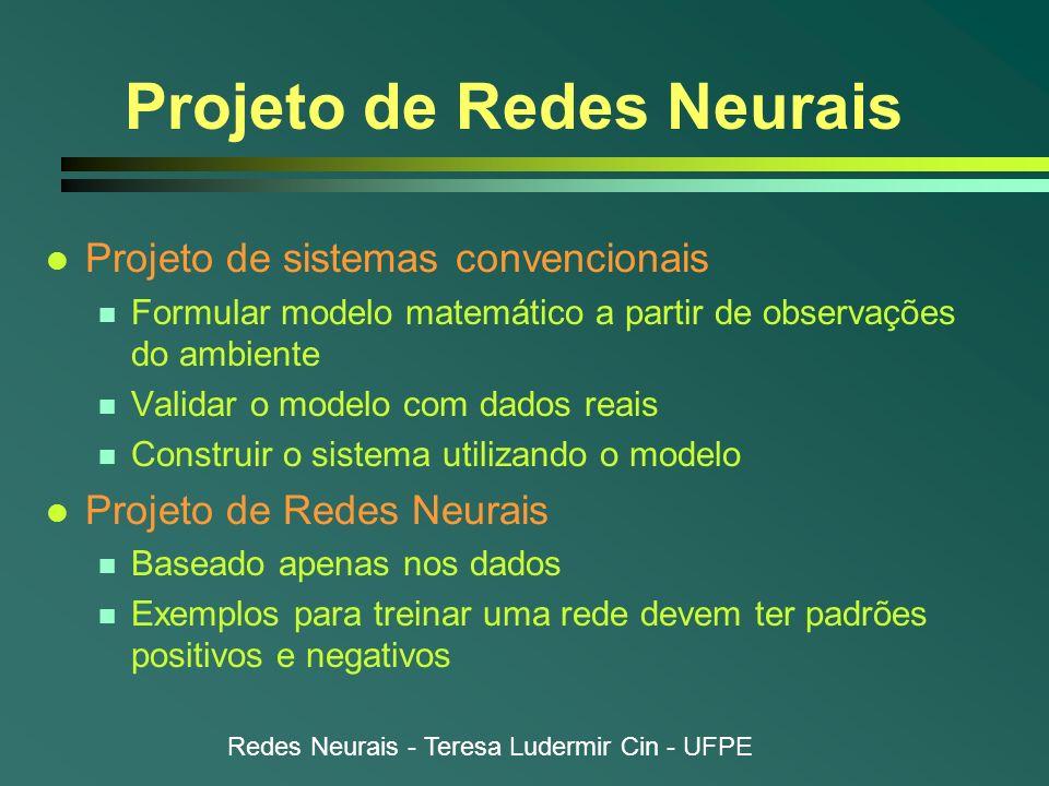 Projeto de Redes Neurais