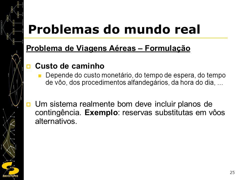 Problemas do mundo real