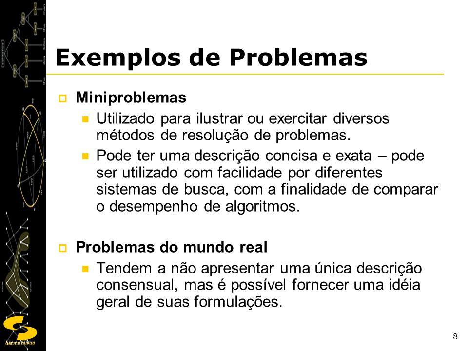 Exemplos de Problemas Miniproblemas