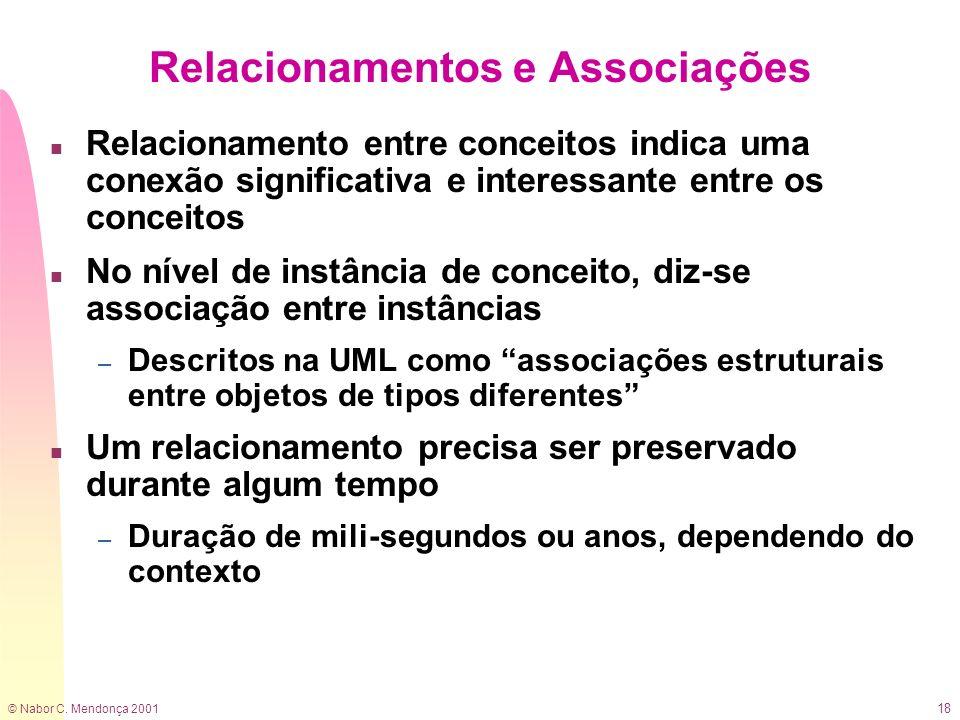 Relacionamentos e Associações