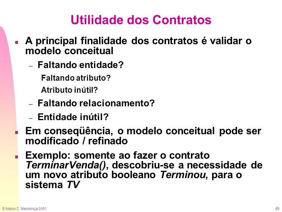 Utilidade dos Contratos