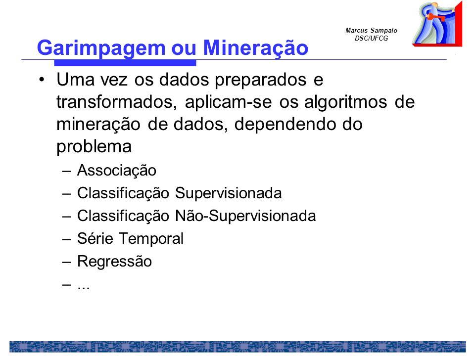 Garimpagem ou Mineração