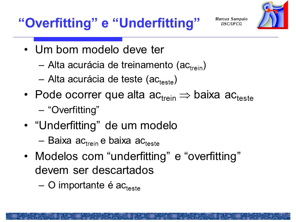 Overfitting e Underfitting