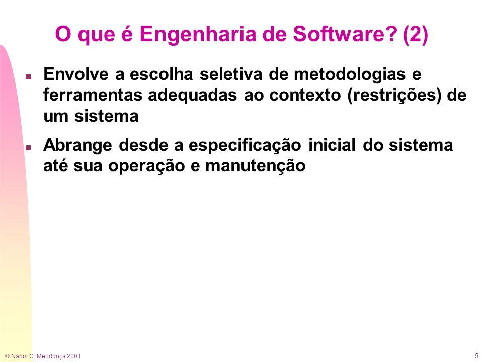 O que é Engenharia de Software (2)