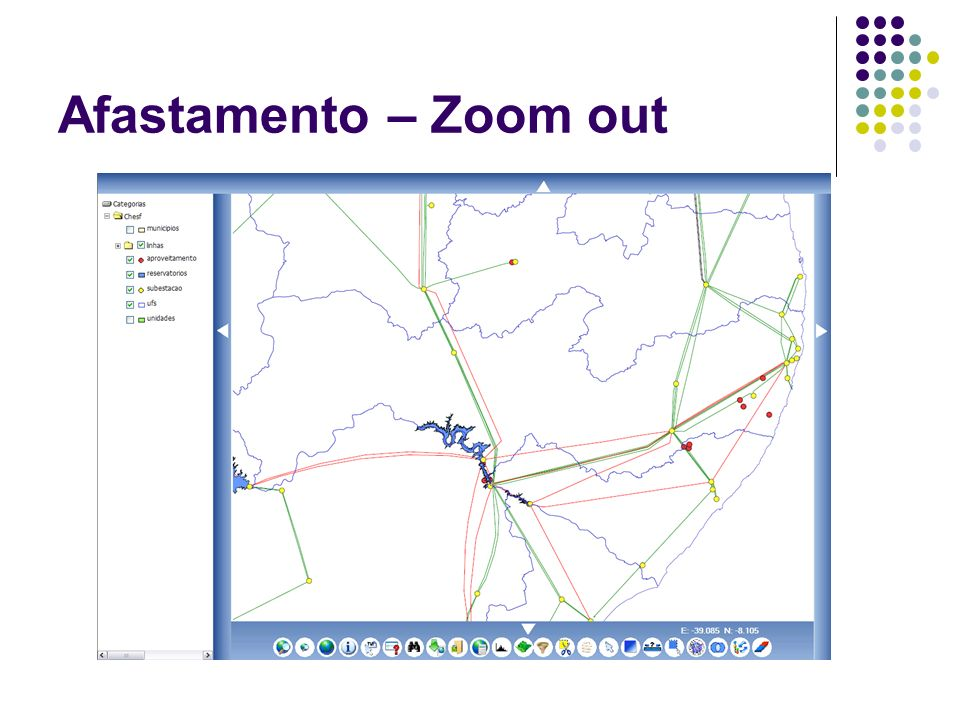 Afastamento – Zoom out