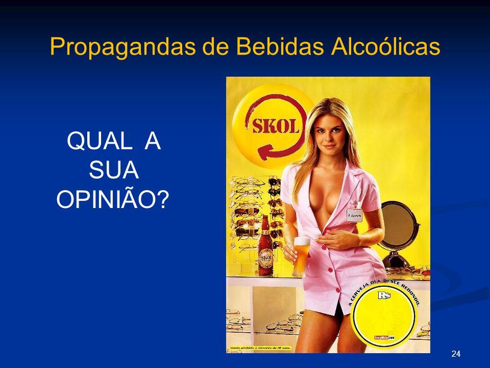 Propagandas de Bebidas Alcoólicas