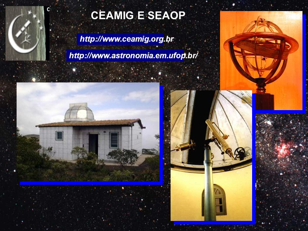 CEAMIG E SEAOP http://www.ceamig.org.br