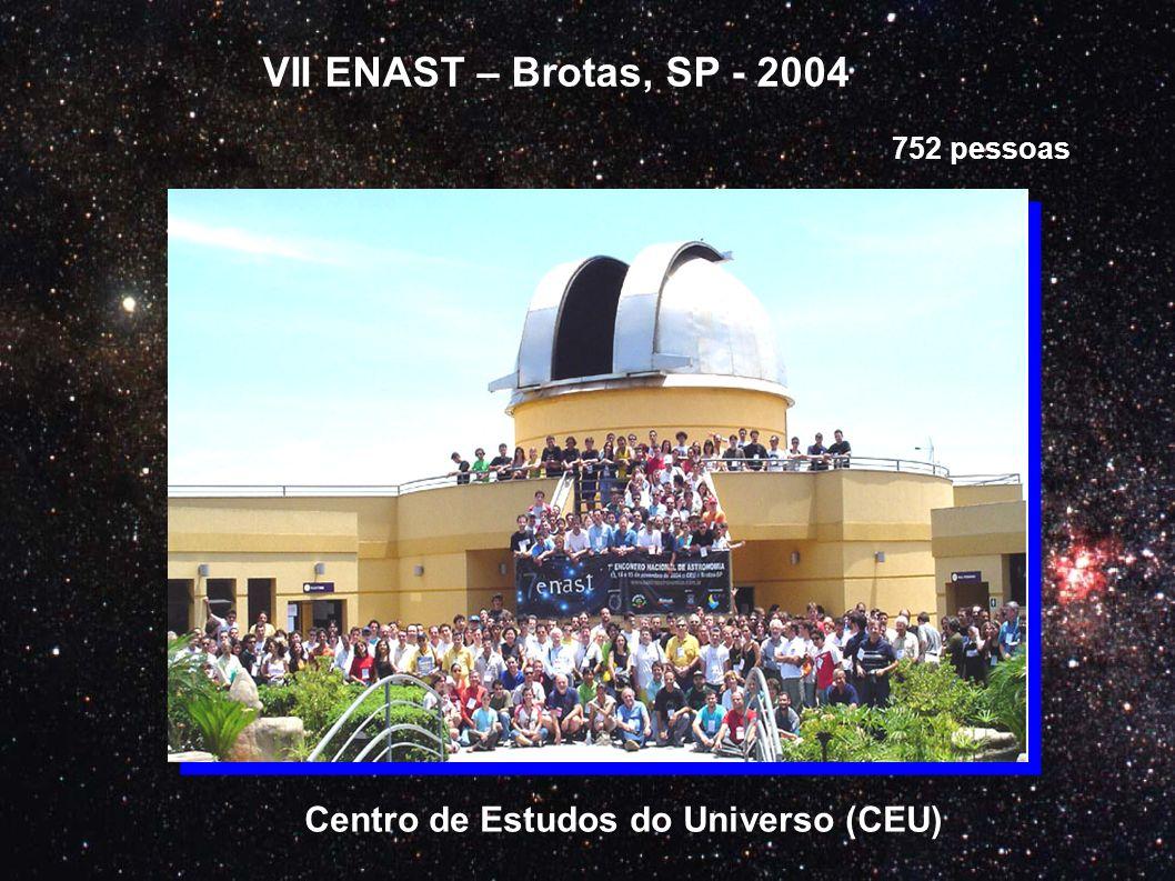 VII ENAST – Brotas, SP - 2004 Centro de Estudos do Universo (CEU)