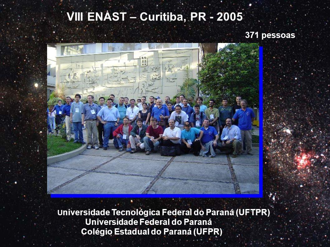 VIII ENAST – Curitiba, PR - 2005