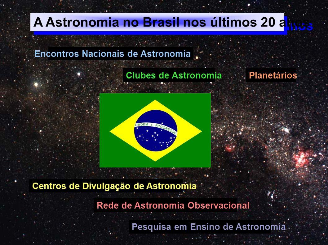 A Astronomia no Brasil nos últimos 20 anos