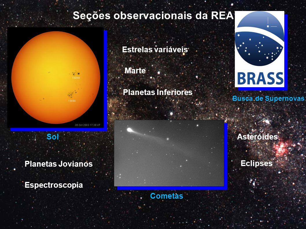 Seções observacionais da REA