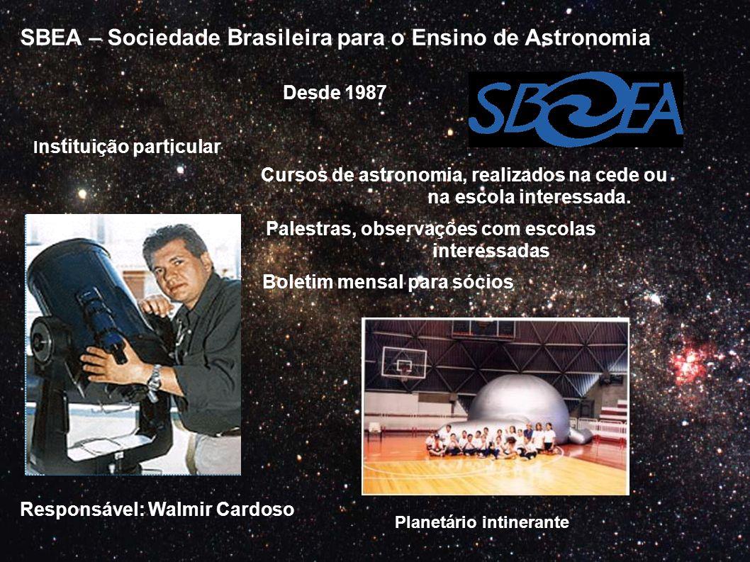 SBEA – Sociedade Brasileira para o Ensino de Astronomia