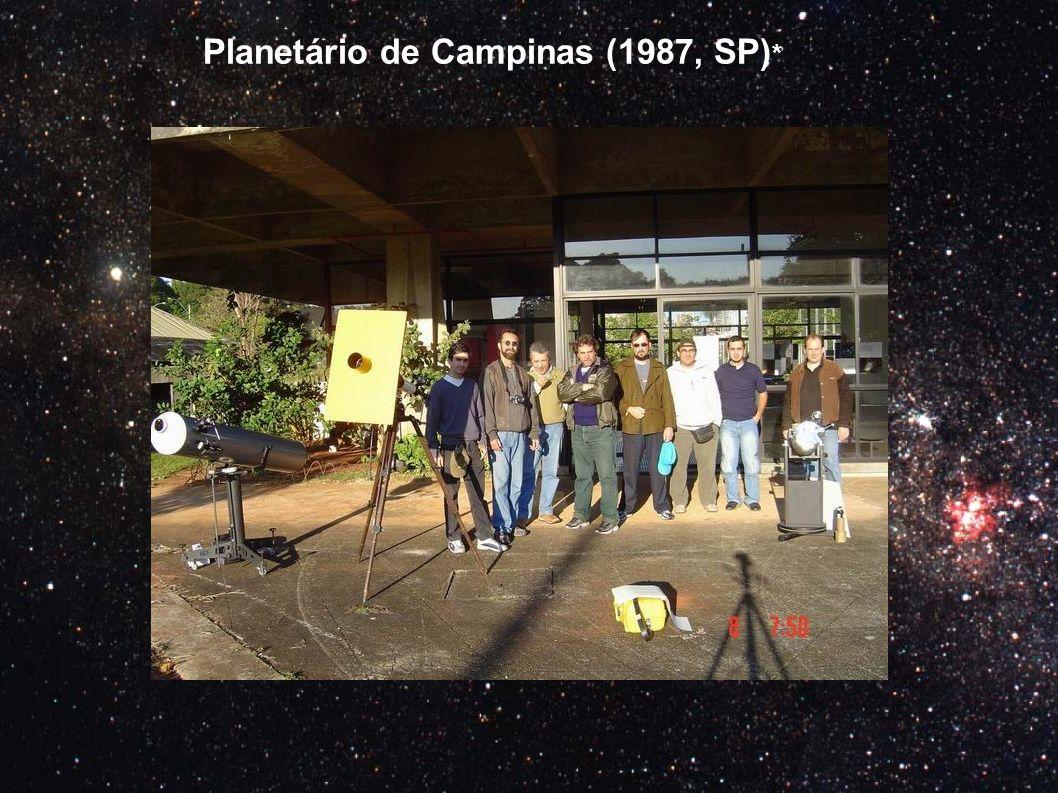 Planetário de Campinas (1987, SP)*