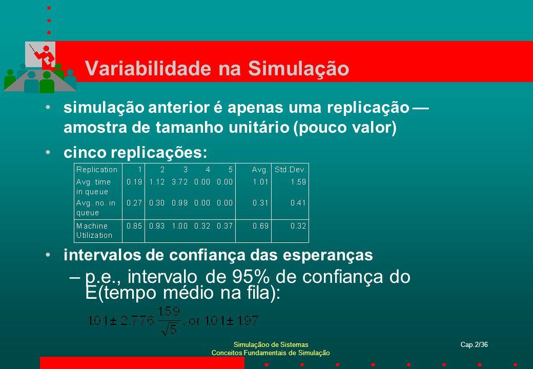 Variabilidade na Simulação