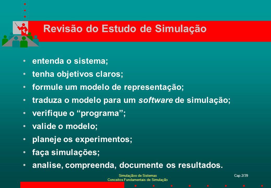Revisão do Estudo de Simulação