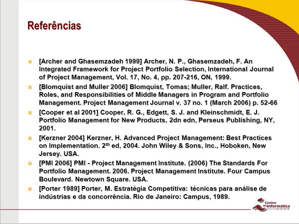 Effectiveness in Project Portfolio Management - PMI