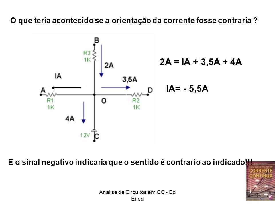Analise de Circuitos em CC - Ed Erica