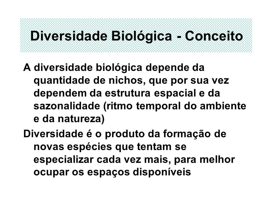 Diversidade Biológica - Conceito